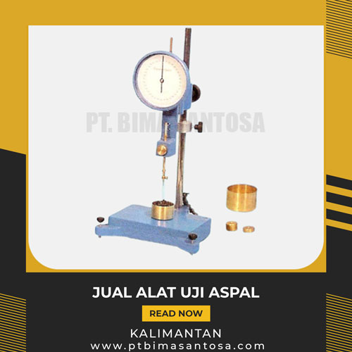 Jual Alat Uji Aspal Kalimantan